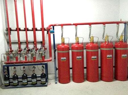 卤代烷灭火系统