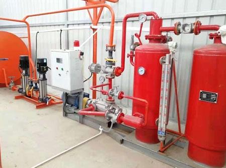 蒸汽灭火系统